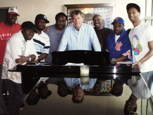 N7 with David Foster at his studio in LA