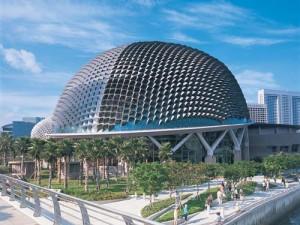 The Esplanade in Singapore