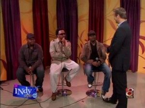Roger, Garfield & Dwight on Indy Style / Wish TV