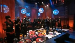 Michael Bublé & Naturally 7 - Tonight Show