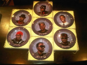 All 7 Airbrushed Plates 5-2-11