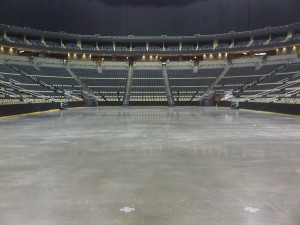 An Empty Consol Energy Arena 6-9-11