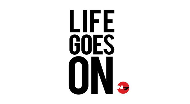 "Worldwide iTunes release of Naturally 7's single ""Life Goes On (Let It Go)"""