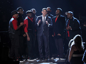 Michael Bublé and Naturally 7 - Christmas Show