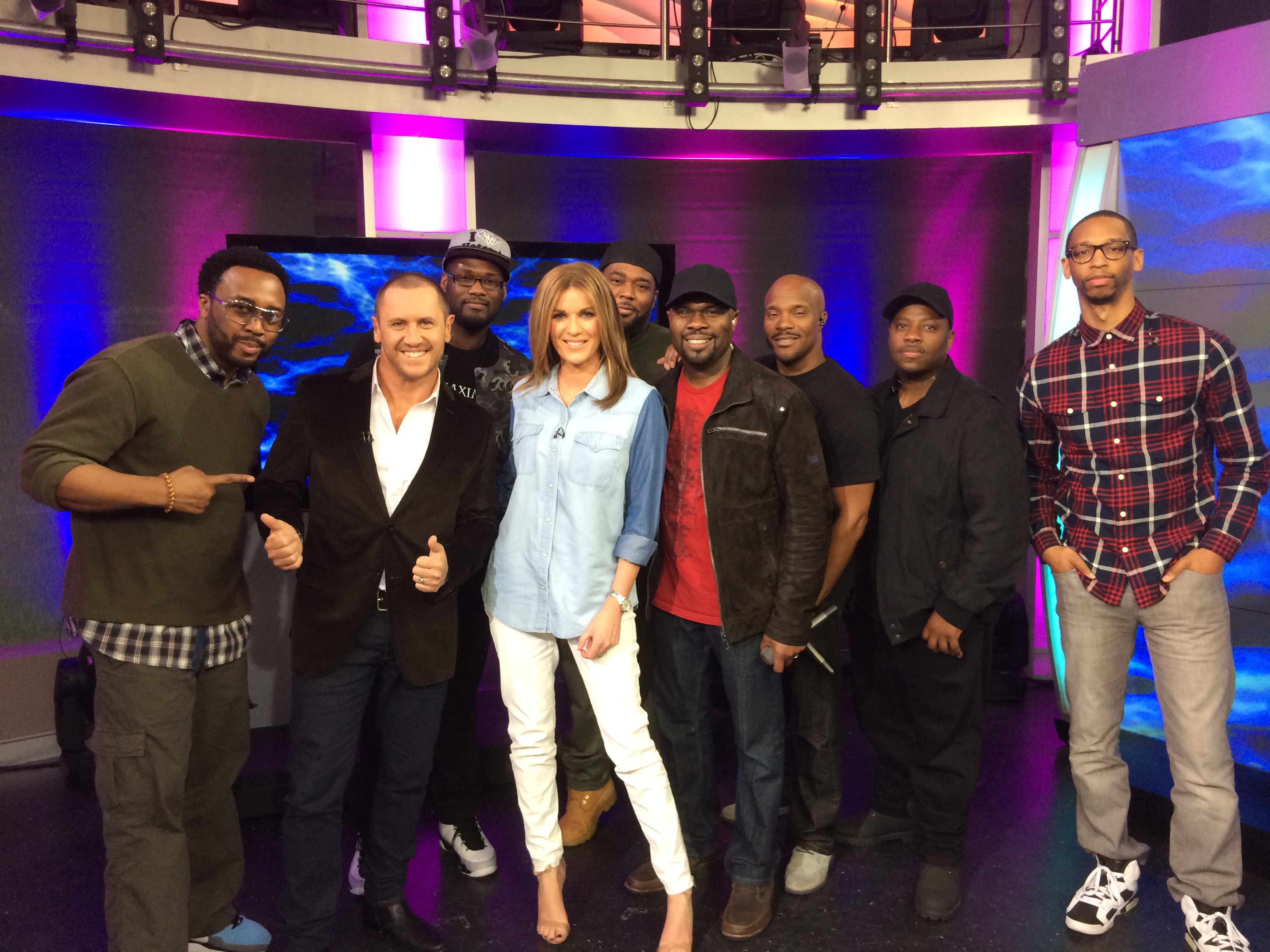 "Naturally 7 at ""The Morning Show"" in Sydney"