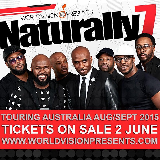 Naturally 7 Brings Harmony to Australia