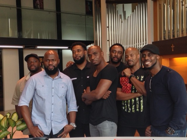 Naturally 7 at Vocal Asia office
